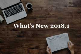 What's New AccountScout 2018.1